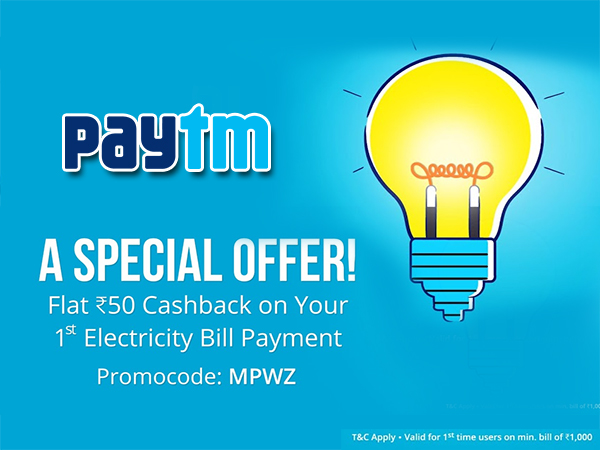 Superior Top 5 Paytm Offers On Electricity Bill Payment: Good Looking
