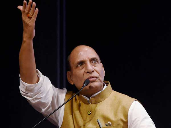 Union Home Minister Rajnath Singh. PTI file photo