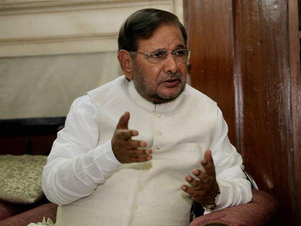 Sharad Yadav submits fresh plea before EC for JD(U) symbol