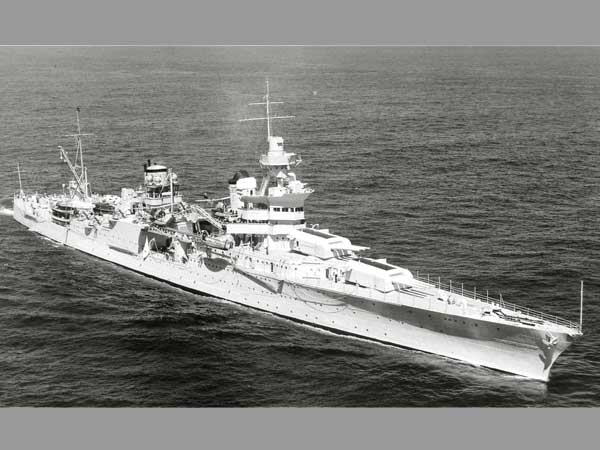 USS Indianapolis sunk by Japanese 72 years back found