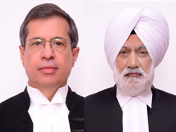 Chief Justice Of Punjab and Haryana High Court S.J. Vazifdar and acting CJ Surinder Singh Saron