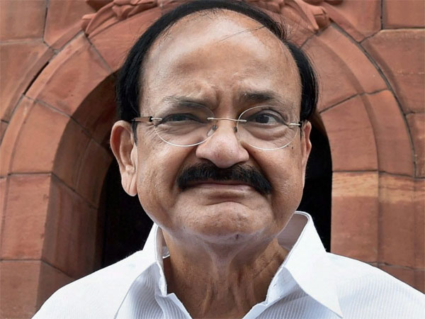 M.Venkaiah Naidu, former Union Minister and NDA's Candidate for the Office of Vice-President of India