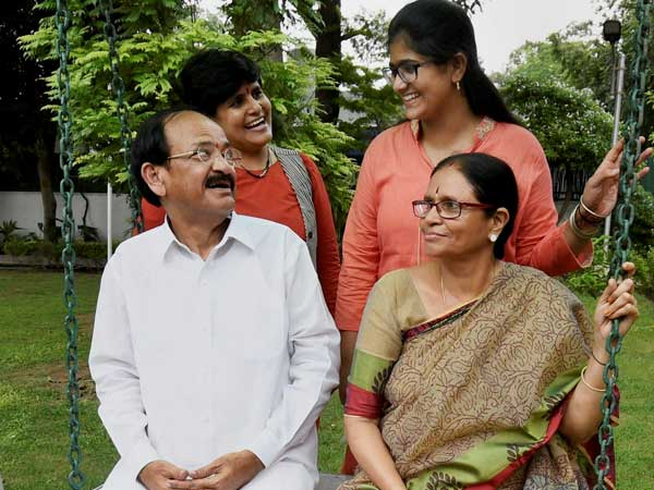 Venkaiah Naidu to take oath as Vice President of India today