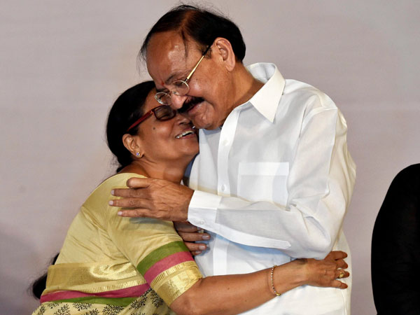 Venkaiah Naidu takes oath as 13 Vice President of India