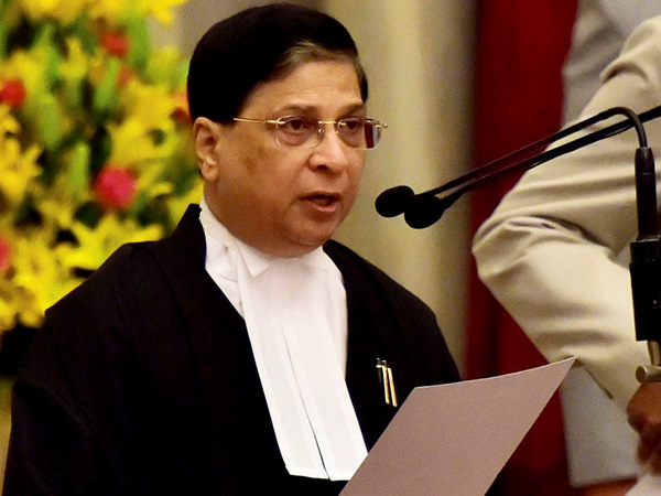 PM Modi congratulates Justice Dipak Misra on taking oath as CJI