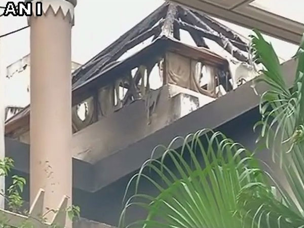 Five persons killed in fire accident