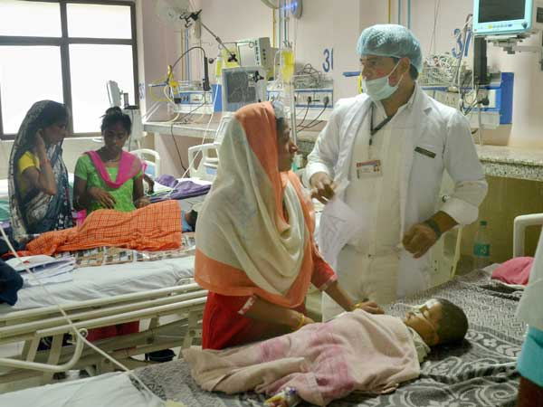 Gorakhpur tragedy: NHRC sends notice to UP govt, seeks report in four weeks