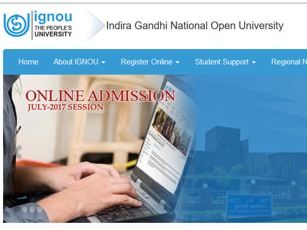 IGNOU July admission application last date extended, check courses available