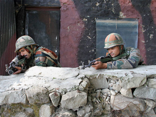 Two soldiers martyred, three injured in encounter with terrorists in JK's Shopian