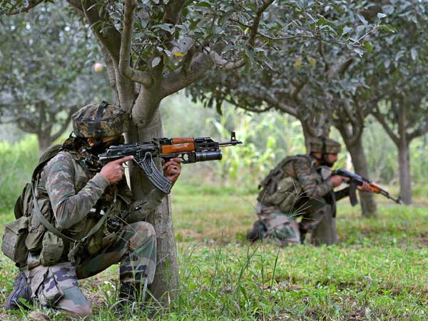 J&K: Security forces launch CASO in Sapore, two terrorists trapped