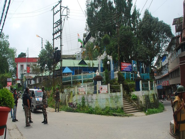The Kalimpong Police Station where the blast occurred