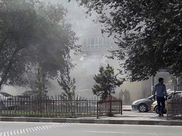 Bank blast kills at least one in Afghan capital Kabul