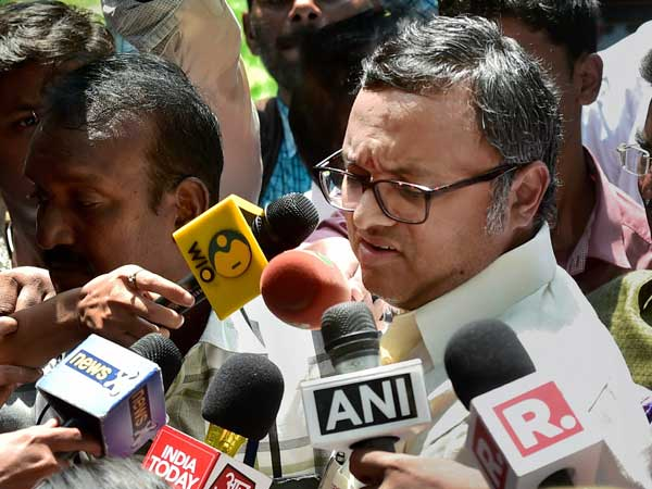 Lookout Notice Issued Against Karti Chidambaram by CBI