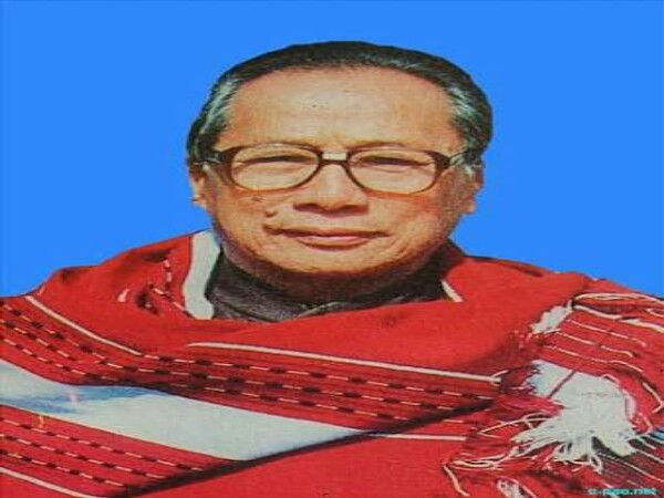 Veteran political leader Rishang Keishing no more