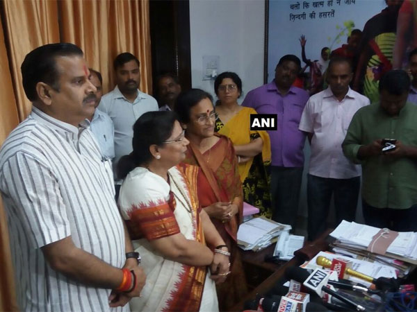 Another Samajwadi Party MLC Sarojini Agrawal resigns, joins BJP