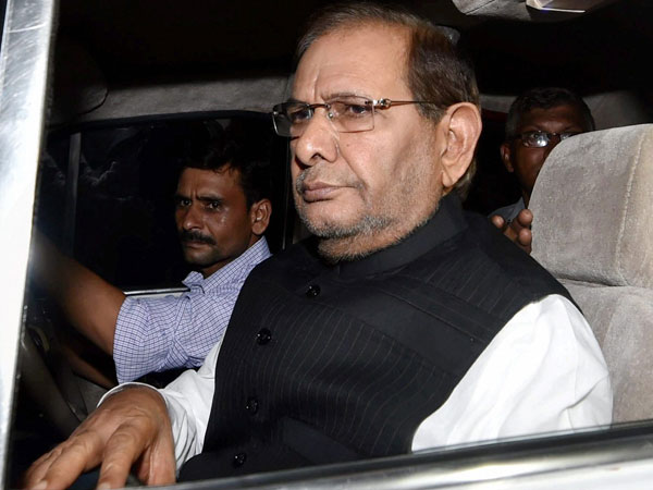 Janata Dal (United) sacks Sharad Yadav as party leader in Rajya Sabha