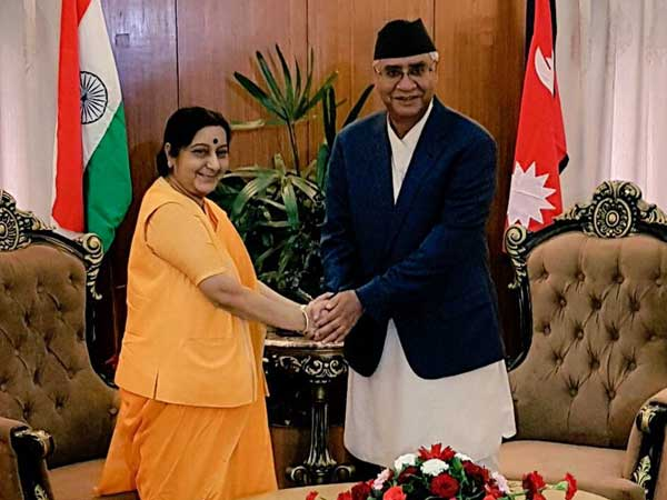 Nepal PM Sher Bahadur Deuba arrives in India on five-day visit