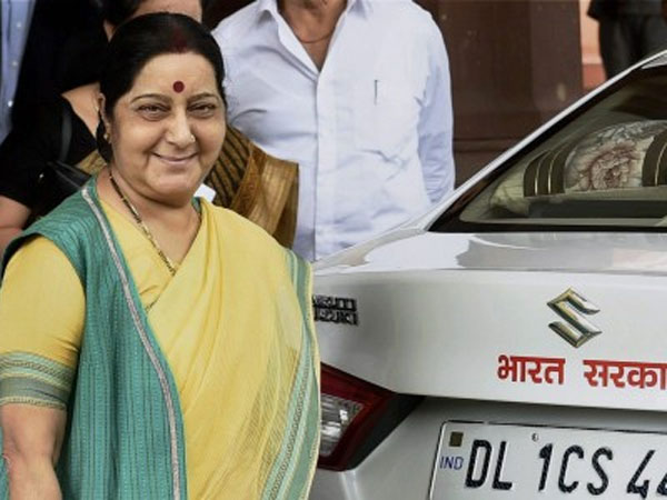 Pune man asks help from Sushma Swaraj