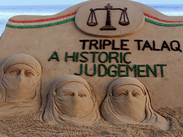 Centre urged to enact law against triple talaq