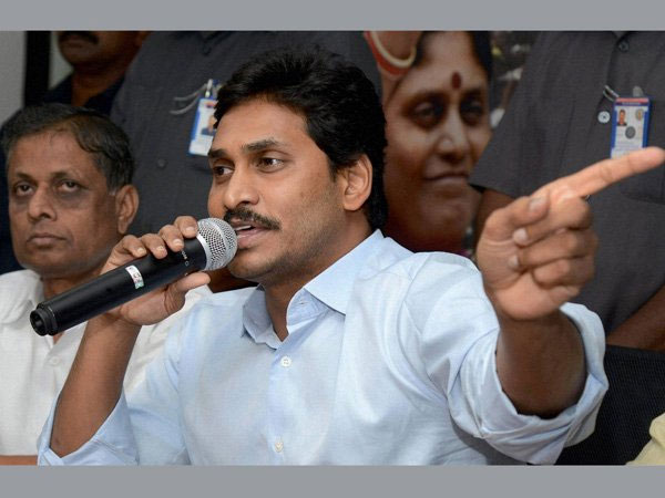 YSR Congress chief Jagan Mohan Reddy
