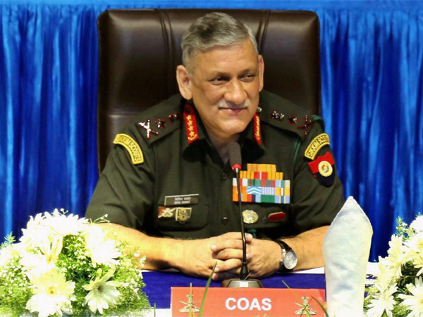 Salami slicing: Indian Army chief warns of twofront war