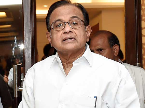Yashwant Sinha has echoed our criticism of Government: Chidambaram