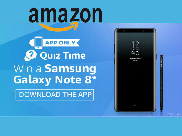 JUST FOR TODAY: How About a Free Samsung Galaxy Note 8* Download Amazon App Now!