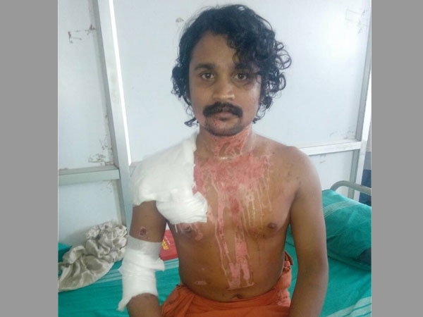 Second attack in a year on Dalit priest in Kerala