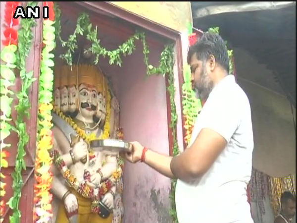 Dussehra: 125-year-old Dashanan temple in Kanpur open its doors for Ravana worship