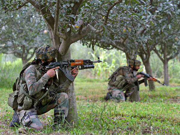 Two Hizbul terrorists killed, one arrested in J&K's Kulgam