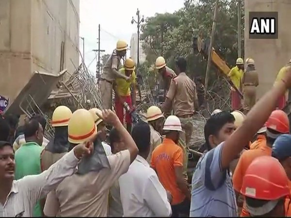 Railway bridge collapses in Bhubaneswar