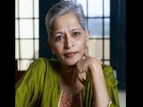Hundreds protest the killing of journalist-activist Gauri Lankesh