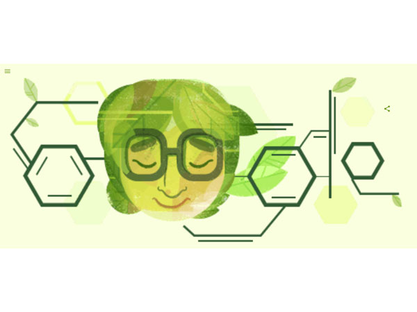 Who is Asima Chatterjee, today's Google Doodle