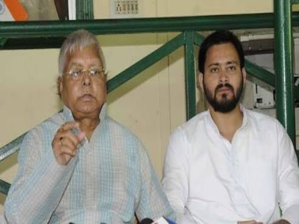 Centre harassing Lalu and Tejaswi for uniting opp parties: RJD