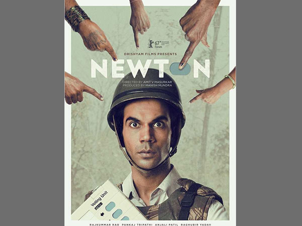"Director Amit Masurkar's political satire ""Newton"""