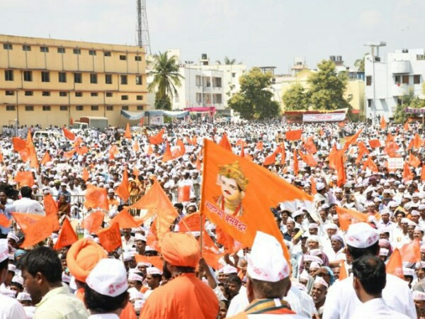 Lingayat community congregated at a massive rally in Kalburgi