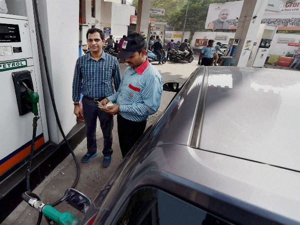Petrol pump offers free food