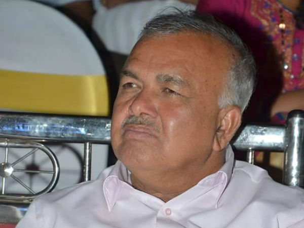 Senior Congress leader Ramalinga Reddy