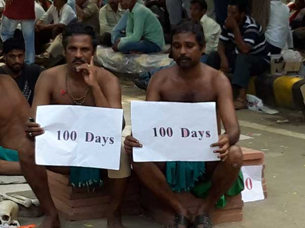 PM wants to kill us: Tamil Nadu Farmers on day 100 of protest