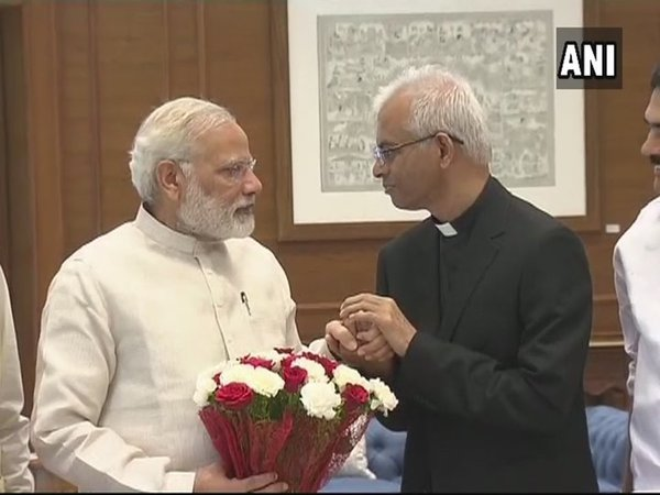 Tom Uzhunnalil meeting PM Modi
