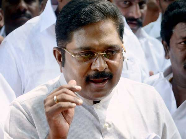 Sedition charges against TTV Dinakaran over pamphlets against state government