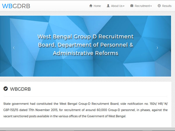 West bengal group d result 2017 download call letter check result west bengal group d result 2017 download call letter check result here altavistaventures Images