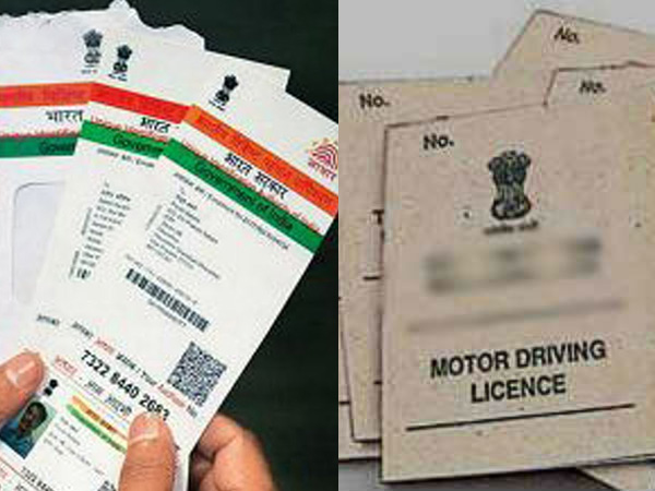 Soon driving license to be linked with Aadhar