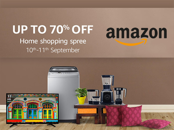 LIVE NOW! Amazon Home Shopping Spree, Upto 70% Off* (Only 12 Hours Left)