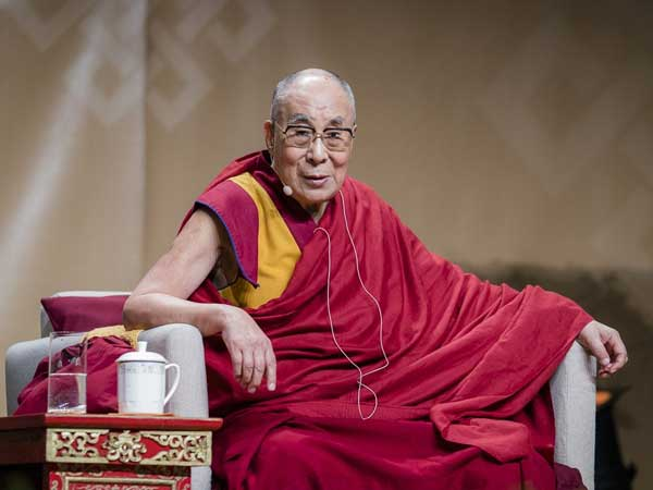 Violence is man made problem not by god: Dalai lama