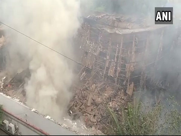 Major fire breaks out at famous RK Studios in Mumbai. Courtesy: ANI news
