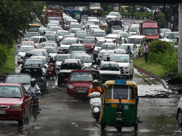 Rains Lash Delhi, NCR; Lead to Traffic Jams in Several Areas