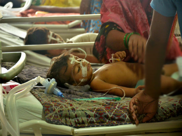16 children died on August 31 at Gorakhpur's BRD Medical College