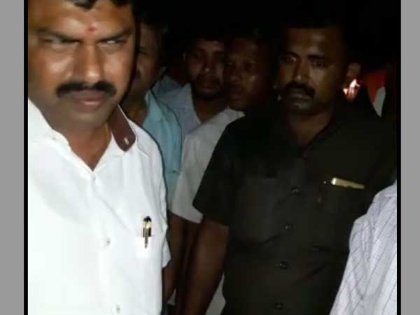 Yeddyurappa's son's auto runs over pedestrian in Karnataka