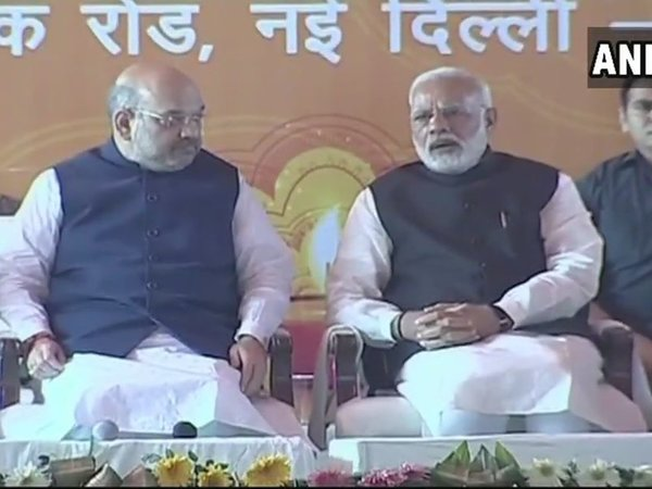 PM Narendra Modi meet journalists at Deepawali Mangal Milan programme